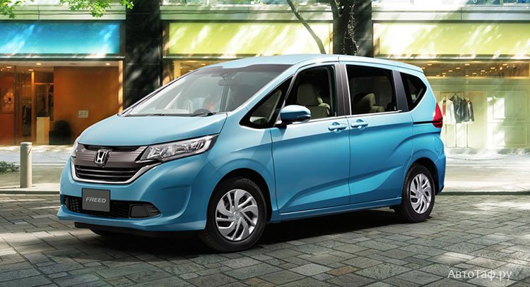Honda Freed экстерьер