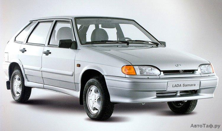 Экстерьер Lada Samara 2114