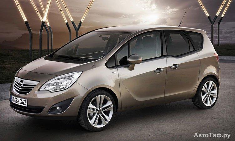 Подробный обзор Opel Meriva
