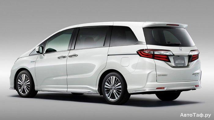 Honda Odyssey рестайлинг 2017