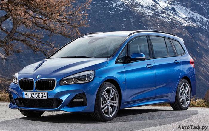 BMW 2-Series Gran Tourer рестайлинг 2018