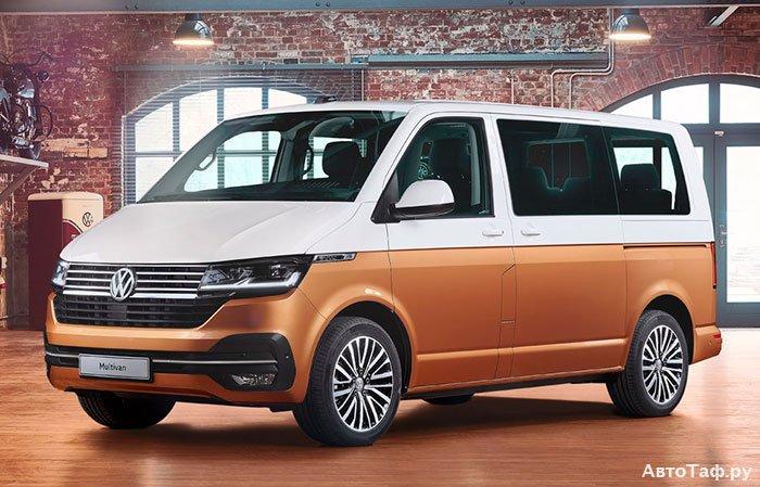 Volkswagen Multivan рестайлинг 2019