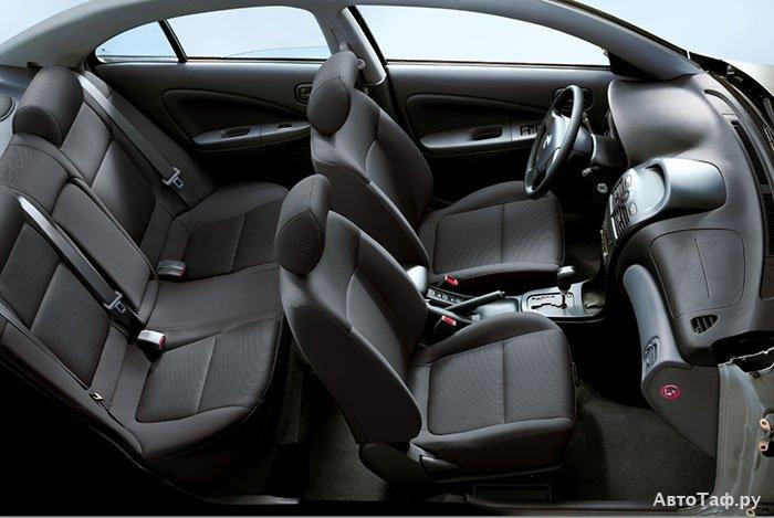 Интерьер Nissan Almera Classic